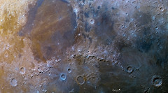 Colors of the Moon (manuel.huss) Tags: moon mineral crater mountain color surface detail mare imbrium serenitatis astronomy space astrophotography telescope night sky exposure landscape moonscape nature universe cosmos