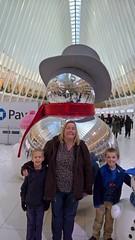 New York City (heytampa) Tags: newyorkcity newyork cheryl fitzpatrick hey conner paxton oculus decorations worldtradecenter