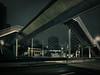 Trouver son chemin... une vraie prise de chou ! ;-) (william 73) Tags: 12mm f2 olympus omd em10 mk2 france créteil nuit urbain perspective