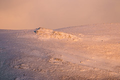 Golden pink (luigig75) Tags: appennini italia italy mountains minimalistic minimal sunset snow ice neve montagne tamronsp150600mmf563divcusd canon 70d landscape
