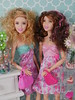 summer summer pink pink (modcasey) Tags: ken barbie kayla raquelle summer valentines day scenes
