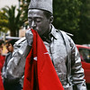 Soldier (petrovicka95) Tags: bodyart soldier flag street photography portrait documentary turkey istanbul travel people new nikon red