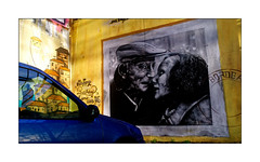 Série Espace Darwin - N°12: Happy  Birthday (Jean-Louis DUMAS) Tags: amour love tag darwin black noir blanc street art artist artiste artistic rue artistique peinture murale bordeaux portrait artdelarue