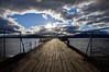 Muelle EPA (Jhaví) Tags: puertonatales chile patagonia trip travel viajar muelle pier barco cielo mar océanoagua water sky sea nubes espectacular clouds ocean