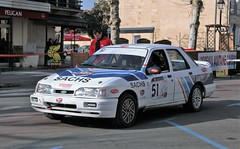 #51 Ford SIERRA COSWORTH - 01 (kinsarvik) Tags: castillonlabataille gironde bordeauxaquitaineclassic rallye rally