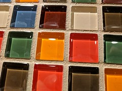 February 28: Tiles (earthdog) Tags: 2018 androidapp moblog cameraphone googlepixel pixel tile color project365 3652018