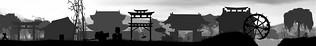 Shadow Ninja Video Game (Matte painting) (Part1)