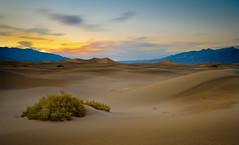 Dune Sunset (Graeme Tozer) Tags: california mesquiteflatdunes sand desert mesquitedunes sanddunes usa longexposure deathvalley sunset deathvalleynationalpark