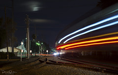 Zoom Zoom (Patrick Dirden) Tags: moon clouds light streak blur motion motionblur nightphotography rail railroad train passengertrain amtraktrain amtrak amtrakcalifornia amtrakcapitol capitolcorridor upmartinezsub davis davisca yolocounty sacramentovalley centralvalley northerncalifornia california