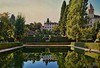 Alhambra, Partal Gardens (Jocelyn777) Tags: buildings architecture gardens pool water reflections waterreflections palace alhambra monuments granada andalusia spain travel textured