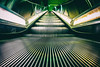 Practiced (Thomas Hawk) Tags: america california losangeles metrorail usa unitedstates unitedstatesofamerica escalator subway fav10 fav25 fav50 fav100