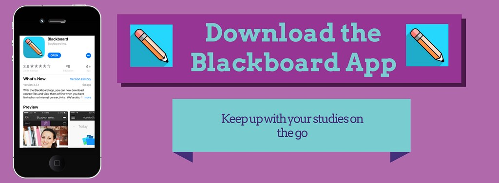 Blackboard Student App Announcement