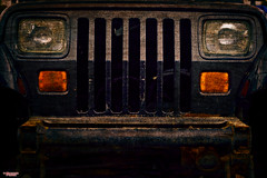 Headlights (MBates Foto) Tags: ambientlight automotive availablelight color daylight existinglight grill headlights lights nikkorlense nikon nikond810 orange outdoors rusttexture vehicle spokane washington unitedstates 99201