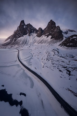 Iceland Aerial Photography (Khanghoang2003) Tags: icelandaerialphotography iceland road winter mountain landscapephotography