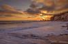 Hidden Sunset (Simon Huynh) Tags: corona coronadelmar newportbeach sunset water wave rushwave