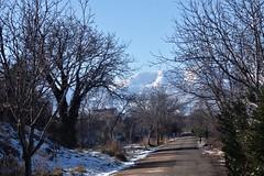 "Vía Verde del  ""Tarazonica"",al fondo el Moncayo. (Eduardo OrtÍn) Tags: camino moncayo montaña aragón tarazona zaragoza víaverde paisaje"