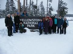 Yellowstone National Park, January 2018