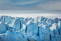 Blue Ice Field (winterlight photography) Tags: europe scandinavia norway svalbard spitsbergen blue ice cold polar nordic remote glacier climate environment landscape nature fantasticnature