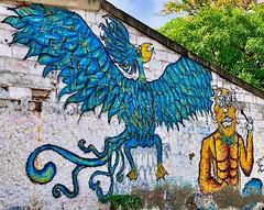 Mural (krossbow) Tags: gate1travel g1photofriday gate1 colombia photolemur travel southamerica vacation tour trip cartagena cartagenadeindias laboquilla boquilla village