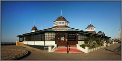 Herne Bay Bandstand (Jason 87030) Tags: maharaja indian restaurant takeaway takeout pan panorama panoramic clock tower art deco kent thanet recent february patience artdeco building architecture play music performance cocktails entertainemnt uk england greatbritain unitedkingdom seaside holiday scene lighting sunny view setting photo photos pic pics socialenvy pleaseforgiveme picture pictures snapshot beautiful picoftheday photooftheday color allshots exposure composition focus capture moment
