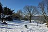 Manhattan Sleighride (Eddie C3) Tags: forttryonpark nycparks washingtonheights snowday hudsonriver snowscenes georgewashingtonbridge