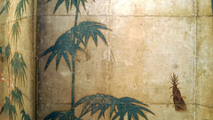 Tosa Mitsunobu (attribution), Bamboo in the Four Seasons