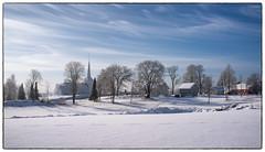 Hovin 23. februar 2018 (Krogen) Tags: norge norway norwegen akershus romerike ullensaker hovin krogen winter vinter fujifilmx100 landscape landskap