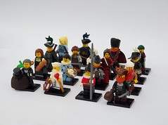 Brethren of the Brick Seas CMF Series 9 (Robert4168/Garmadon) Tags: lego cmf series brethrenofthebrickseas minifigures minifigure oleon corrington eslandola sea rats garvey