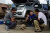 Failure analysis (rod_b_k) Tags: ifttt 500px truck volkswagen vehicle team recreation van discussion dirt road 4x4 mechanics car trunk carrying failure pickup sports utility dakar la paz cars rally racing