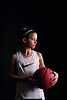(Rebecca812) Tags: girl child sports athlete basketball nike athleticwear girlpower strengthisbeauty canon people lowlight portrait lowkey ball orange profile serious determination rebeccanelson rebecca812