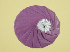 Elliptical tato by Oschene (Mélisande*) Tags: mélisande origami circle tato ellipse oschene