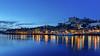. azur (Ruinenstaat) Tags: tumraneedi ruinenstaat porto portugal bluehour azur stadt city river fluss duoro night dusk dämmerung nacht