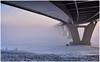 2018-01-23 SPb, Finland gulf, frost 182 (Mandir Prem) Tags: outdoor places stpetersburg brige city colour finlandgulf frost frozen horizon ice landscape nature postcard russia saintpetersburg snow sunset travel tree winter