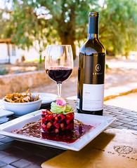 Vina De Franne (Monochrome Adventures) Tags: sonya7ii voigtlander 40mm nokton dof baja vino wine ceviche merlot tasting digital raw