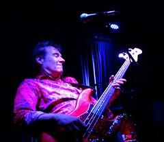Ken Fox (fotomie2009) Tags: musica the fleshtones music performance live concert raindogs house ken fox bass guitar basso savona italy november 2017