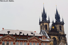 Church of Our Lady before Týn (Prague) (Nicolay Abril) Tags: praga praha prag prague prága česko českárepublika républiquetchèque tchéquie repúblicacheca chequia czechrepublic czechia csehország csehköztársaság tschechien tschechischerepublik