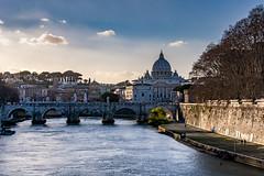 Roma (ravalli1) Tags: roma italia tevere rome church art monuments sanpietro saintpeter italy
