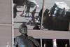 Ralph Kramdon Watching Over Pedestrian Traffic (Zach K) Tags: raplph kramdon sculpture character publicart public art busdriver bus driver actor tv nyc new york city midtown station transit fujifilm fuji xt1 street photography walkers sidewalk honeymooners