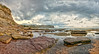 Shades of pastel (JustAddVignette) Tags: australia bilgolabeach clouds cloudysunrise dawn firstlight golden landscapes newsouthwales northernbeaches ocean panorama reflections rockpool rocks seascape seawater sky sunrise sydney water