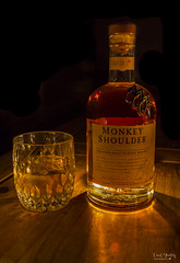 """Happy International Scotch Day"" (Carl Yeates) Tags: canon50d internationalscotchday whiskey bottle monkeyshoulder scotch tasty drink"