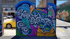 Stine Hvid... (colourourcity) Tags: streetartnow streetart streetartaustralia graffiti melbourne burncity awesome colourourcity nofilters original stillgoingsolo stinehvid