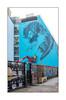 Street Art (?), East London, England. (Joseph O'Malley64) Tags: streetart urbanart publicart freeart graffiti eastlondon eastend london england uk britain british greatbritain art artist artistry artwork mural muralist wallmural wall walls render cherrypicker cinema gentrification creepinggentrification gate brickwork bricksmortar cement pointing trellisplanter steelgates posters tags pavement accesscover peashingle tree urban urbanlandscape aerosol cans spray paint freehand fujix x100t accuracyprecision workinprogress