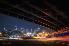 Overpass KC (Jonathan Tasler) Tags: kansascity missouri traffic longexposure lights night urban