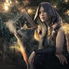 The first snow (Mark Frost :)) Tags: wolf girl female woman fantasy rpg render cg cgi daz studio snow sun sunlight cold cloak cape armour
