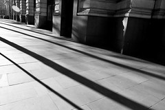 Capture the light (Grace (Bingyan S)) Tags: london travel architecture city blackandwhite street streetphotography lights shadow