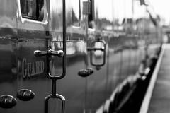 7456_SVR_Mono (timbertree9) Tags: severnvalleyrailway severnvalley bewdley kidderminster worcestershire unitedkingdom england engineering engine carriage steam fire buckets lantern signs lamps train trains steamloco yesteryear station historic history firebuckets tracks guard handles monochrome mono blackandwhite greyscale canon canoneos7dmkii platform