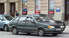 Lada Samara 2 /VAZ-2114 ( Лaдa 2114 / ВАЗ 2114) Спутник from Russia (peterolthof) Tags: rīga pига lada samara2 vaz2114 лaдa 2114 ваз peterolthof спутник