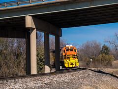 Belt Junction (trnchsr1984) Tags: dgno dallas texas sd45 emd junction bridge