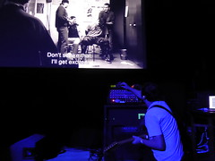 La Haine with live soundtrack by Asian Dub Foundation @ Band On The Wall, Manchester 20/1/2018 (stillunusual) Tags: lahaine asiandubfoundation adf bandonthewall manchester cinema film movie soundtrack livesoundtrack livescore mcr england uk 2018