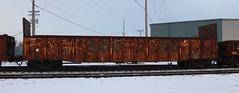 WC 63264, SOO, Chapman, Neenah, 19 Jan 18 (kkaf) Tags: neenah a446 chapman soo gondola extendedbulkhead wc